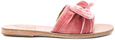 Ancient Greek Sandals Taygete Bow Slide in Pink
