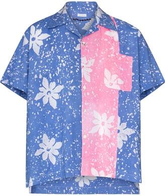 Post Imperial x Homecoming Ijebu floral shirt