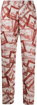 Joseph Hurley Big Stamp trousers