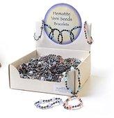 Proenza Schouler Hematite Veni Seed Bracelet Fashion Jewelry with Display Box 100 Piece
