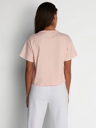 Lyle & Scott Crop T-shirt - Pink