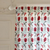 Minted Japanese Springtime Curtains