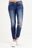 True Religion Halle Super Skinny Crop Womens Jean