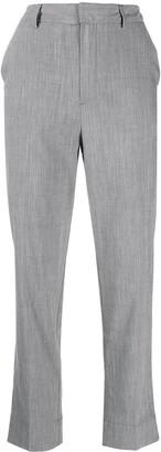 Ganni Straight-Leg Tailored Trousers