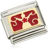 Nomination Composable Classic Christmas Unisex Christmas Partially Gold-Plated Stainless Steel Enamel 03028201