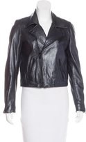 Maje Leather Moto Jacket