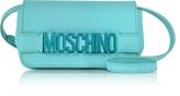 Moschino Leather Mini Crossbody Bag