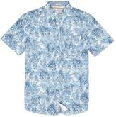 Original Penguin Classic Fit Floral Stretch Shirt