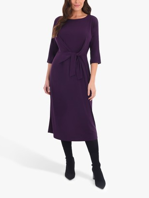 Live Unlimited Curve Jersey Tie Front Dress