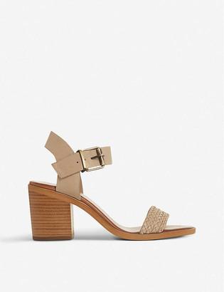 Bertie Irine leather heeled sandals