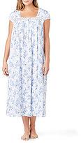 Eileen West Plus Floral Jersey Ballet Nightgown