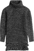Alexander McQueen Turtleneck Pullover with Wool and Cashmere
