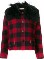 Marni oversized check jacket