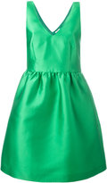 P.A.R.O.S.H. flared sleeveless dress
