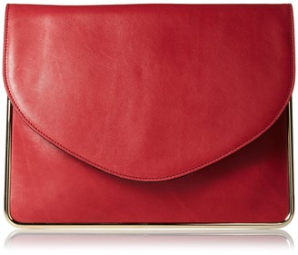 Carven Women's Leather Clutch