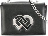DSQUARED2 logo shoulder bag - kids - Polyester/Polyurethane/Viscose - One Size