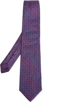 Brioni linear shape tie - men - Silk - One Size