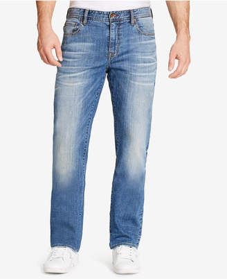 William Rast Men Legacy Relaxed-Straight Fit Stretch Jeans