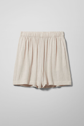 Weekday Tica Shorts - Black