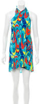 Trina Turk Printed Halter Dress