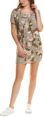 Tsesay Pleated Silk Mini Dress
