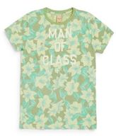 Scotch Shrunk Little Boy's & Boy's Floral-Print Cotton Graphic Tee