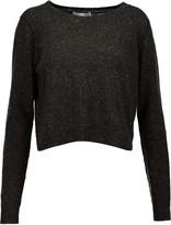 Autumn Cashmere Two-tone cashmere sweater
