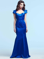 Mac Duggal Evening Gowns - 48172 in Sapphire