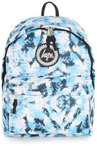 Hype Blue White Ice Print Backpack*
