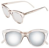 Le Specs 'Halfmoon Magic' 51mm Cat Eye Sunglasses