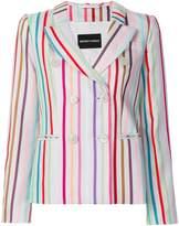 Emporio Armani striped blazer
