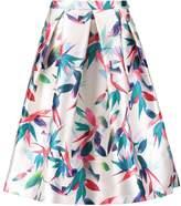 Louche CORIANNA Aline skirt white