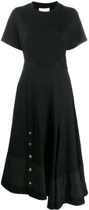 3.1 Phillip Lim Panelled Flare Skirt