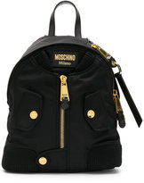 Moschino bomber jacket backpack