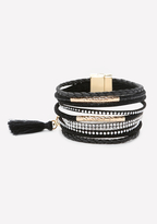 Bebe Stranded Magnetic Bracelet