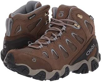 Oboz Sawtooth II Mid B-Dry (Brindle/Tradewinds Blue) Women's Shoes