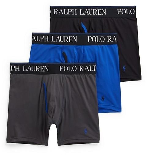 Polo Ralph Lauren 3-Pack 4D Flex Boxer Briefs