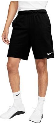 Nike Big Tall Dry Shorts Epic 2.0 (Black/White) Men's Shorts