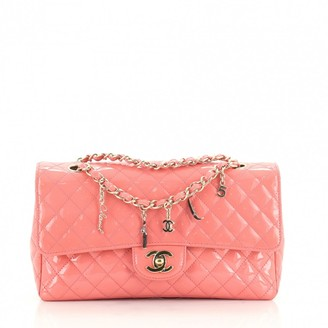 Chanel Pink Patent leather Handbags