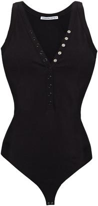 alexanderwang.t Stretch-cotton Jersey Bodysuit