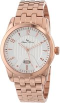 Lucien Piccard Men's LP-12355-RG-22S Diablons Dial Rose Gold Ion-Plated Stainless Steel Watch