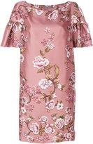 Alberta Ferretti floral print dress - women - Silk/Acetate/Viscose - 44