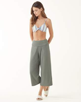 Splendid Rib Sandwash Wide Leg Pants
