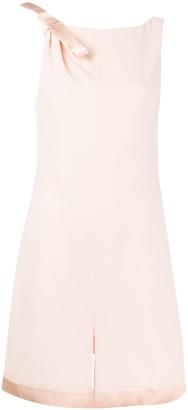 Emporio Armani Shoulder Bow Shift Dress