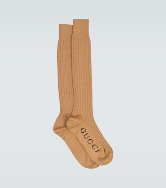 Gucci Exclusive to Mytheresa - ribbed cotton socks
