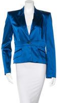Dolce & Gabbana Satin Crop Blazer