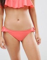 Asos Frill Skirted Bikini Bottom