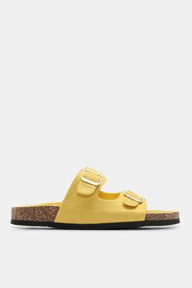 Ardene Faux Suede Buckle Sandals