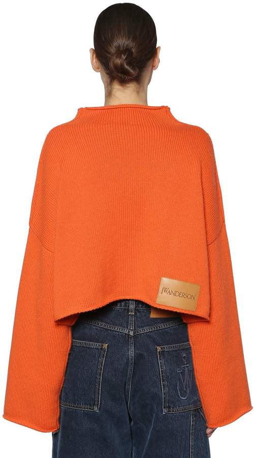 J.W.Anderson Oversize Wool & Cashmere Knit Sweater