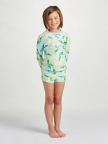 Oscar de la Renta Painted Lemons Swim Short